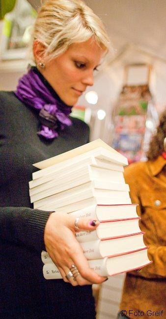 Friedrich Dönhoff in der Buchhandlung Greif - Lesung