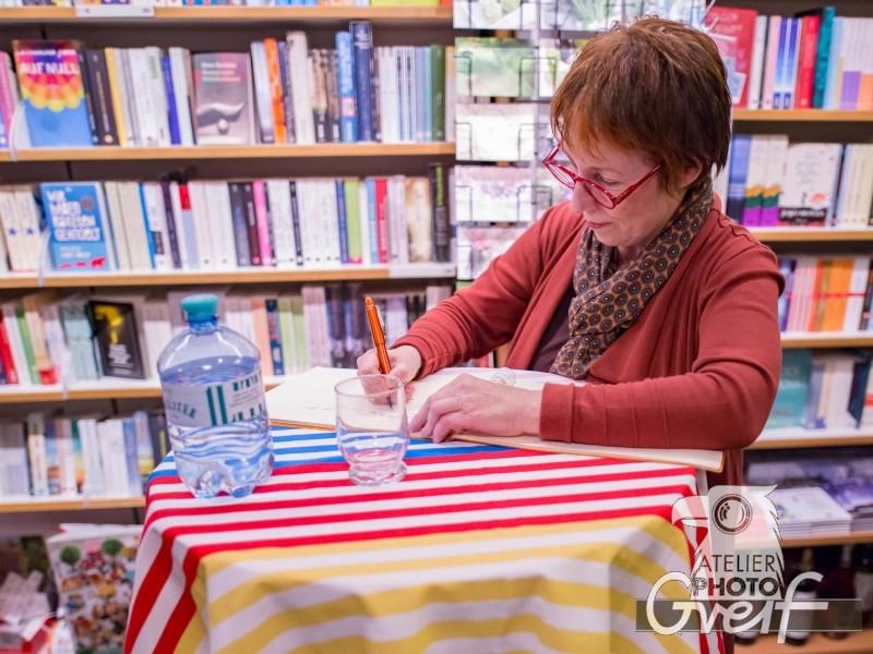 Brigitte Glaser - Bühlerhöhe - Lesung - Buchhandlung Greif