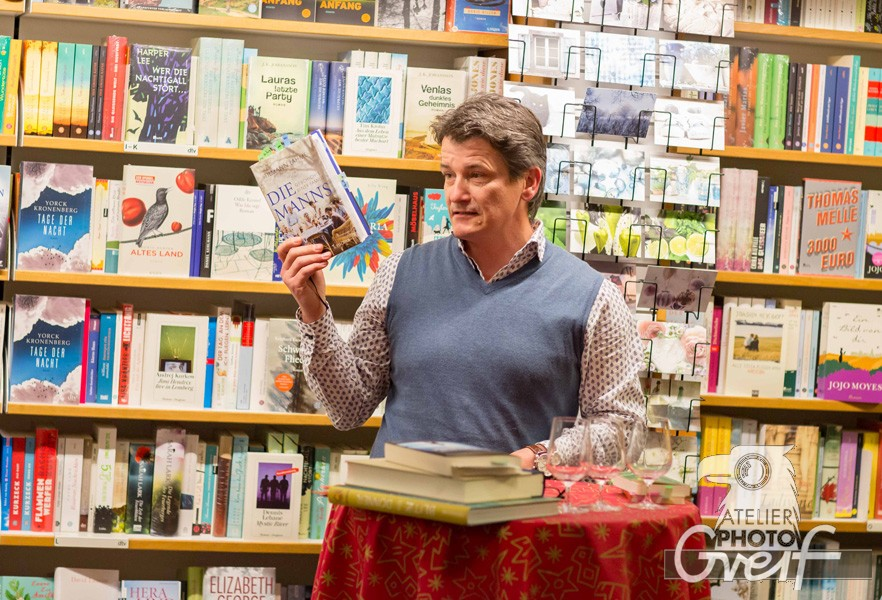 Bücherlese bei Rotwein 2015 - 10 Jahre Jubiläum - Buchhandlung Greif Eberbach
