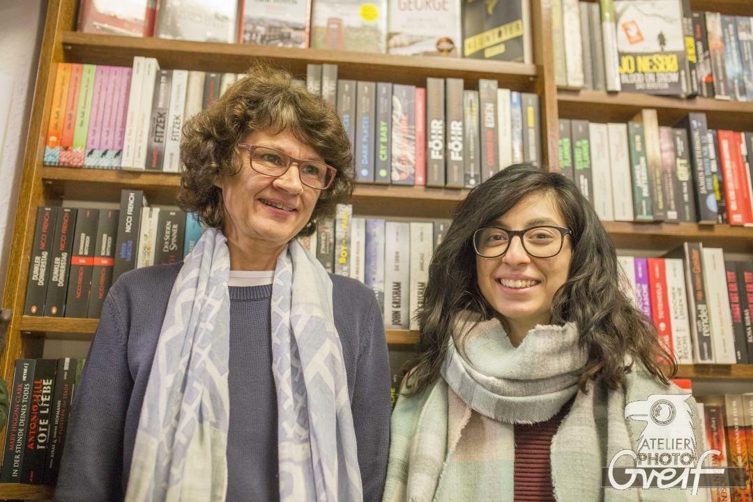 Ingrid Mertes und Yesim Süngü
