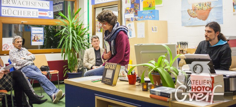 Bücherlese bei Rotwein in Waldbrunn