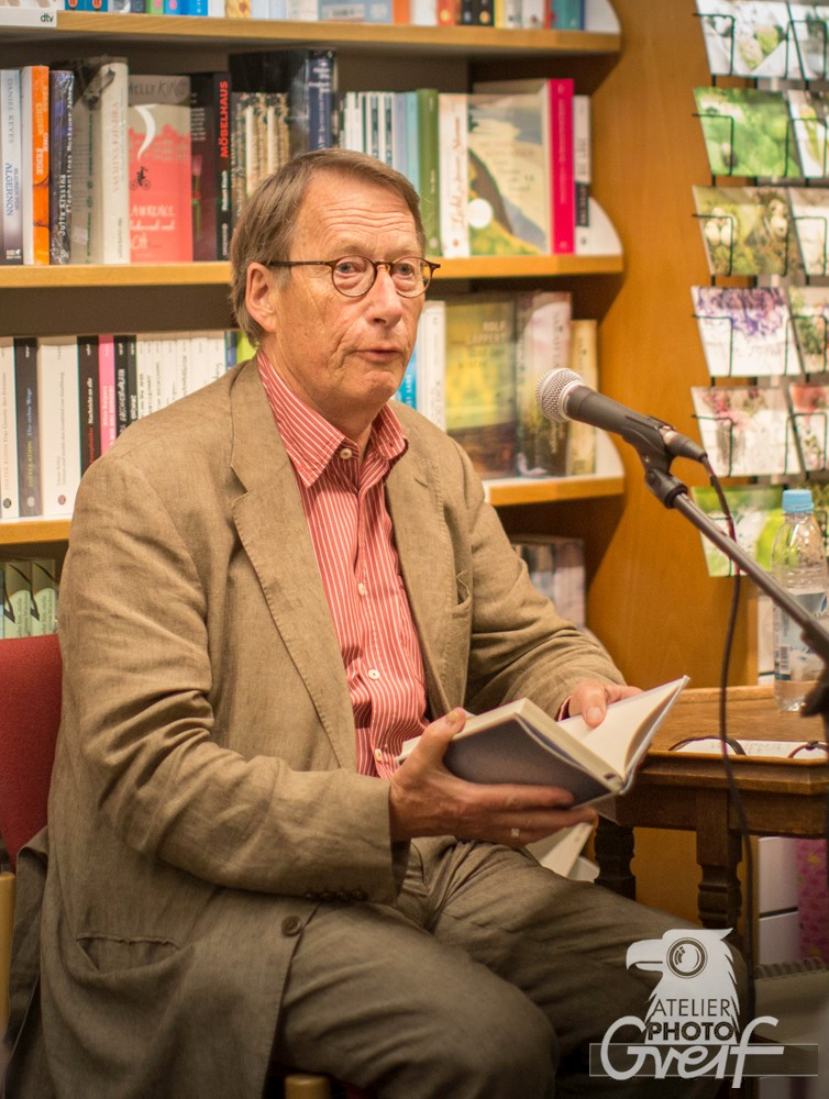 """Lesung mit Friedrich Christian Delius aus seinem Roman """"Die Geschichtenerzählerin"""""""