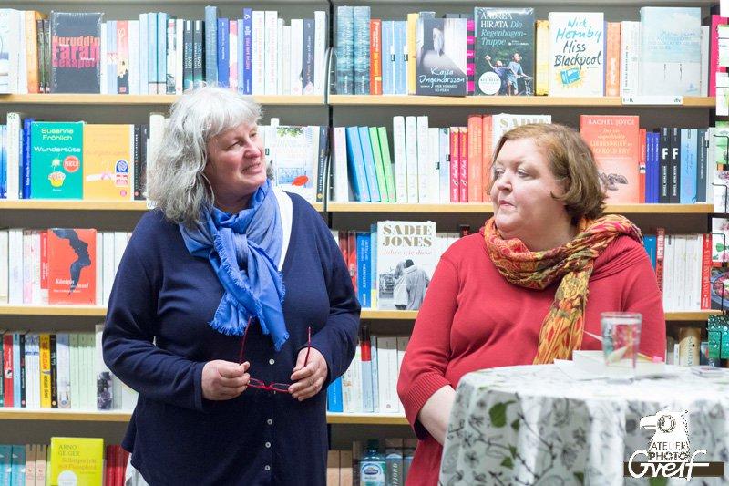 Helene Mierscheid in der Buchhandlung Greif - Lesung - Vokuhila