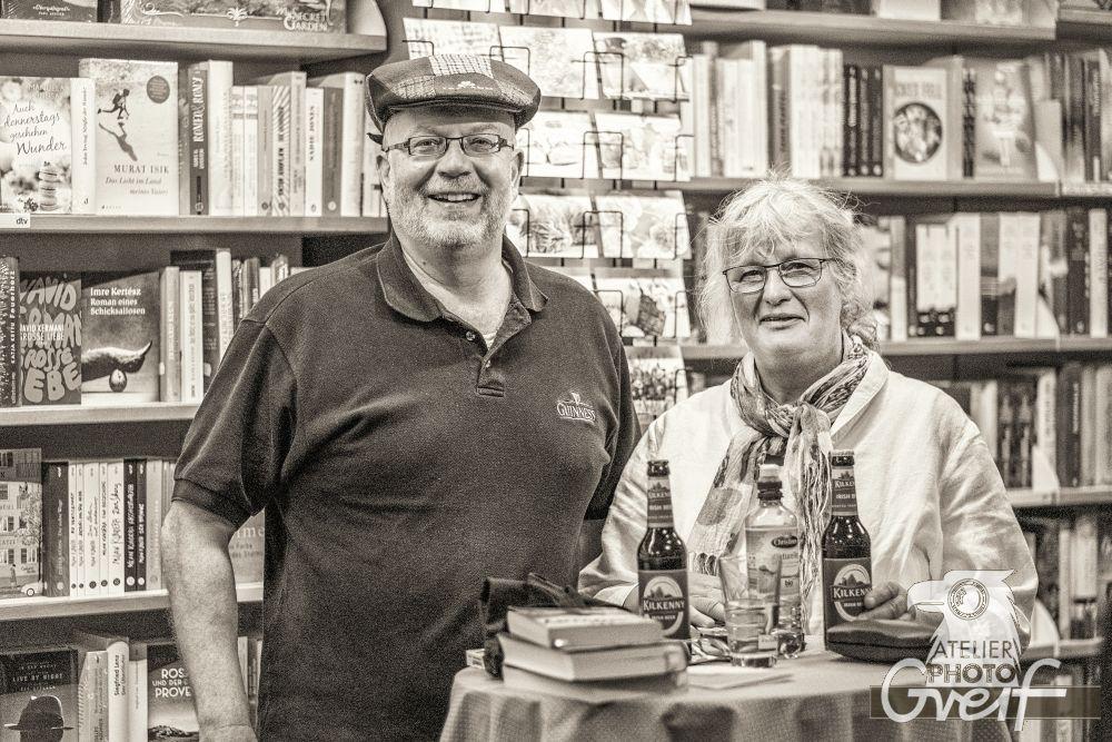 Jürgen Haber mit Martina Greif-Trussina
