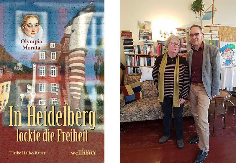 Ulrike Halbe-Bauer mit Ekkehard Leytz in der Buchhandlung Greif